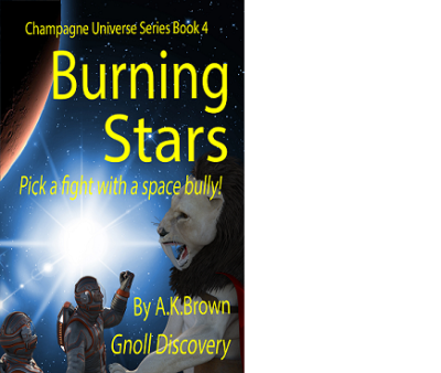 New Book Release - Burning Stars
